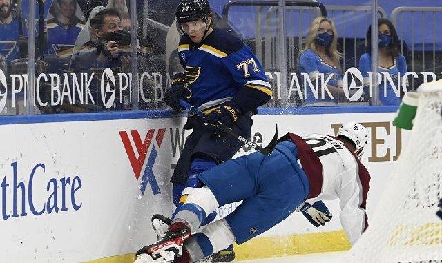 Colorado Avalanche at St. Louis Blues Game 3 Betting Preview
