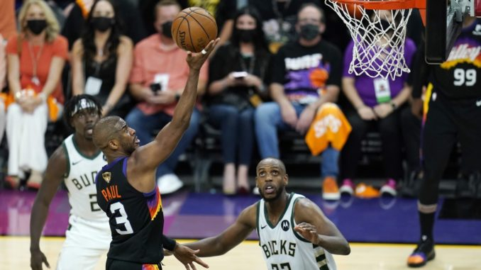 BUCKS AT SUNS GAME 5 NBA FINALS BETTING PREVIEW